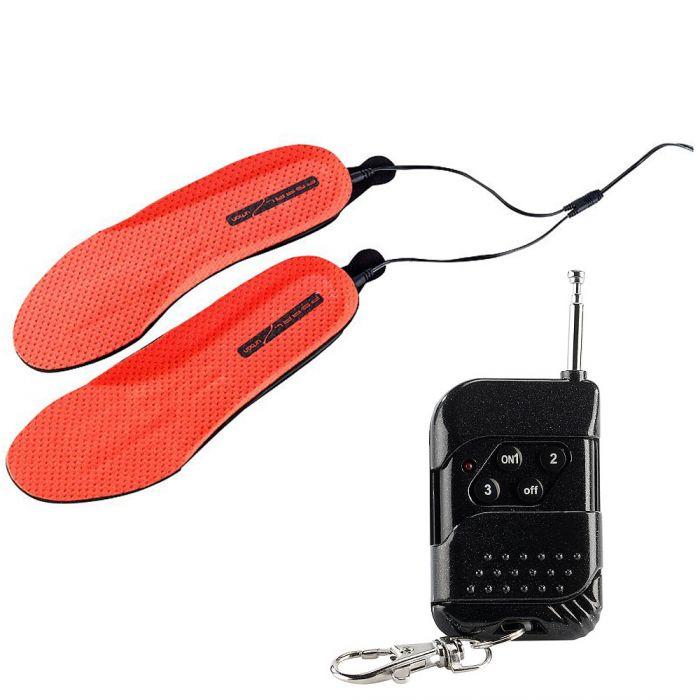 Nützlichwellness - Beheizbare Sohlen Akku Schuheinlagen - Onlineshop Monsterzeug