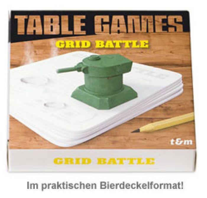 Bierdeckel Spiele - Grid Battle