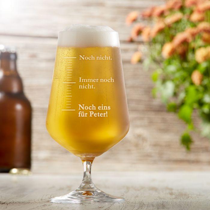 Bierglas Mit Gravur Noch Eins Lustiges Pilsglas Personalisiert