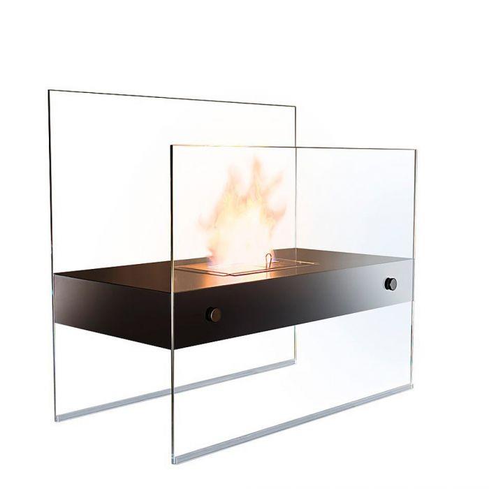 Bioethanol Kamin aus Glas - Deluxe