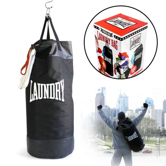 boxsack w schekorb f r boxer ausgefallener workout w schesack. Black Bedroom Furniture Sets. Home Design Ideas