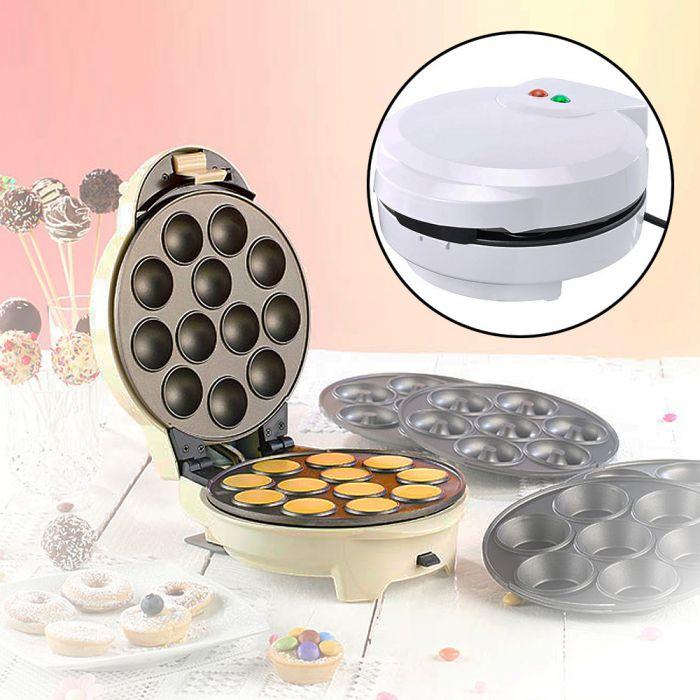 appareil 3 en 1 pour cupcakes cake pops et donuts. Black Bedroom Furniture Sets. Home Design Ideas