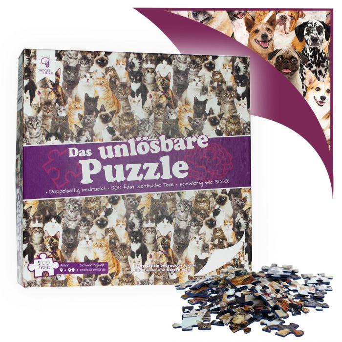 Le puzzle insoluble - chiens et chats