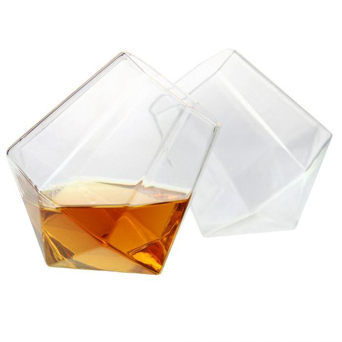 Diamant Gläser 2er Set