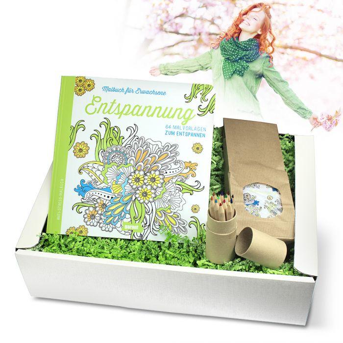 Entspannung Geschenkbox Mit Mandalas Für Erwachsene