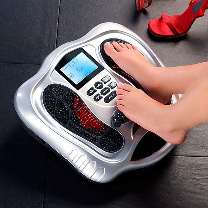 Fußreflexzonen Massagegerät mit Infrarot und Reizstrom