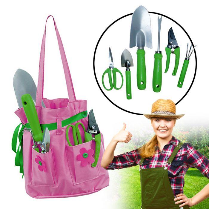 - Gartentasche fr Frauen 6 teiliges Gartenset - Onlineshop Monsterzeug