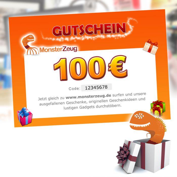 geschenk gutschein 100 euro monsterzeug geschenk gutschein. Black Bedroom Furniture Sets. Home Design Ideas
