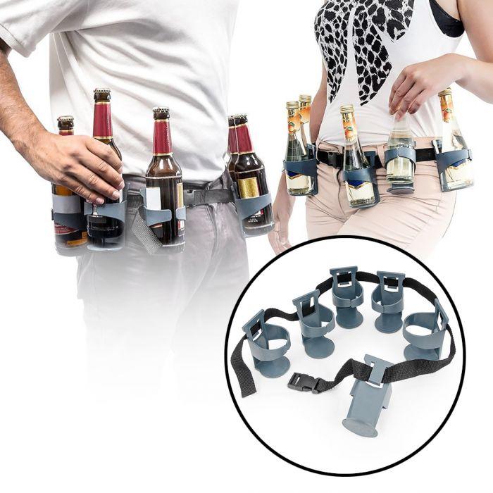 getr nkehalter g rtel sechsertr ger bierg rtel f r unterwegs. Black Bedroom Furniture Sets. Home Design Ideas