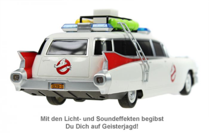 ghostbusters auto ferngesteuert mit licht und sound. Black Bedroom Furniture Sets. Home Design Ideas