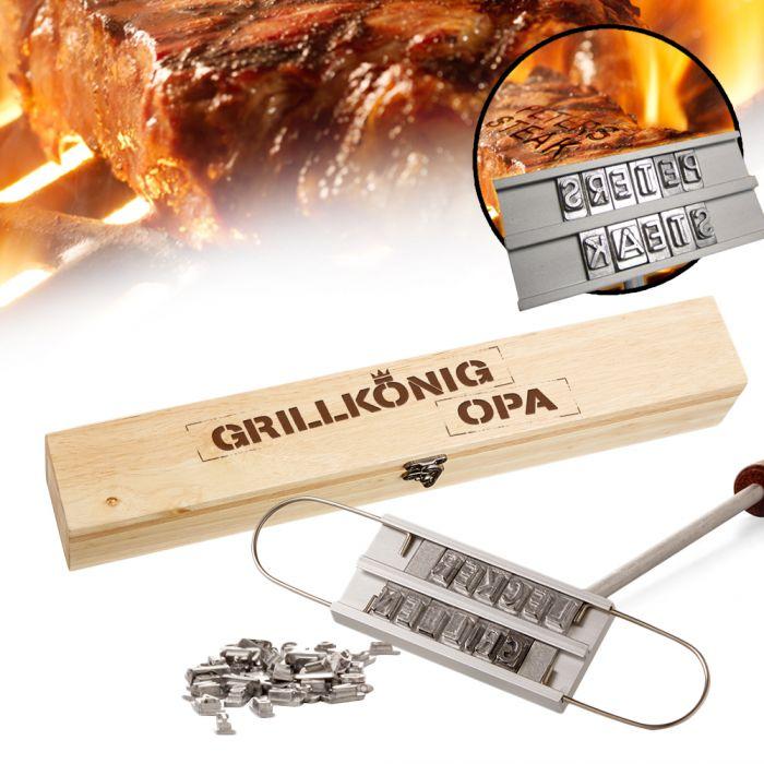 Grillbrandeisen - Grillkönig Opa