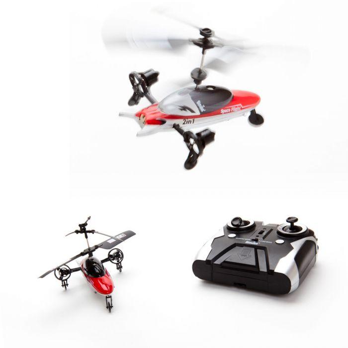 helikopter mit seiten turbinen f r gr eren spa beim steuern. Black Bedroom Furniture Sets. Home Design Ideas