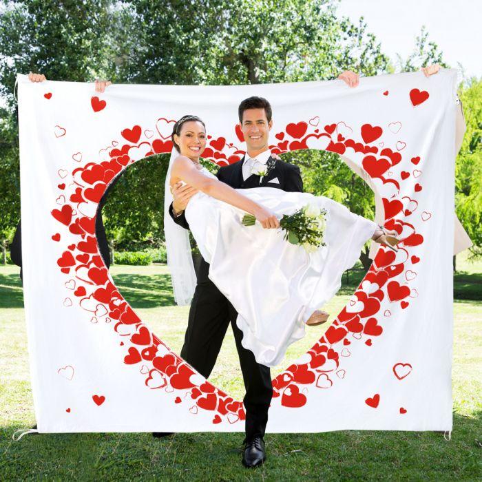 Hochzeitslaken Herzmotiv Tradition Zum Ausschneiden