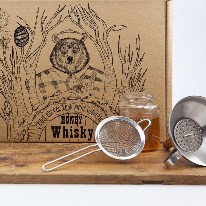 honig whisky set zum selbermachen tolles geschenk f r. Black Bedroom Furniture Sets. Home Design Ideas