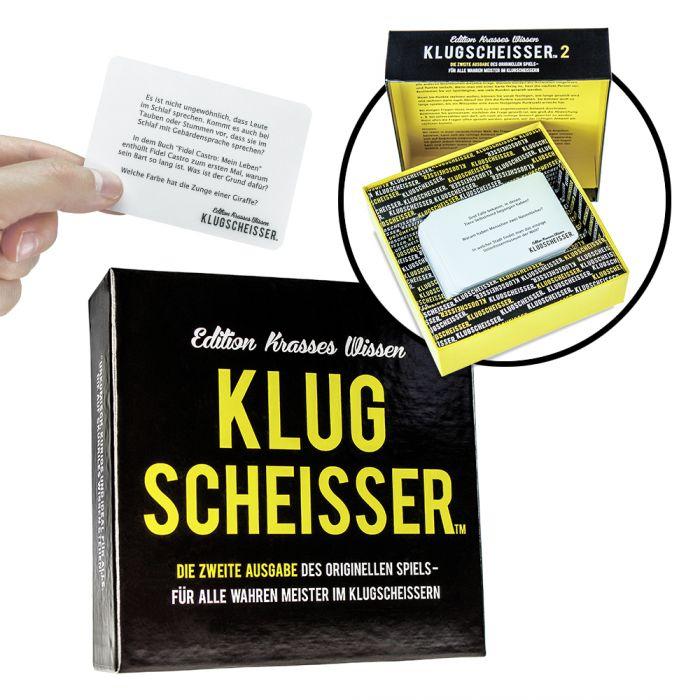 Partybedarfpartyspiele - Klugscheisser Spiel Edition Krasses Wissen - Onlineshop Monsterzeug