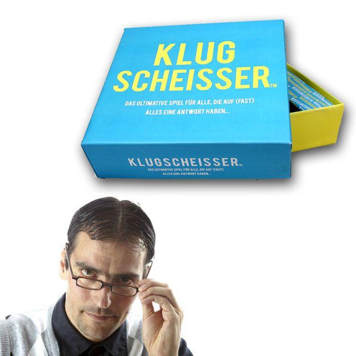 Partybedarfpartyspiele - Klugscheisser Wissensquiz - Onlineshop Monsterzeug