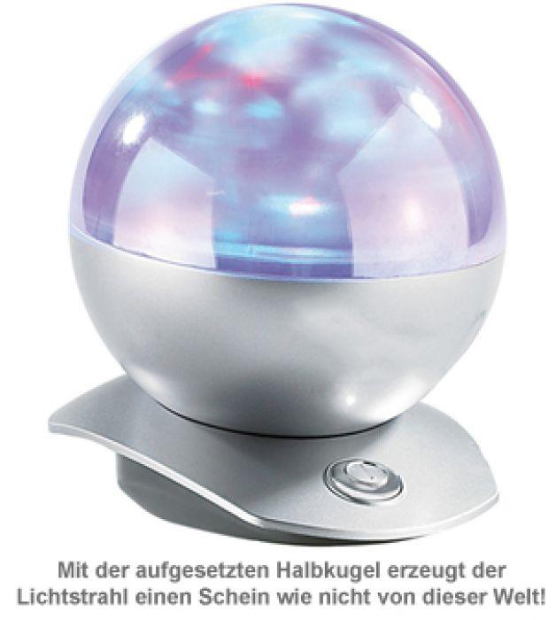Laser Projektor - Kugellampe mit Polarlicht