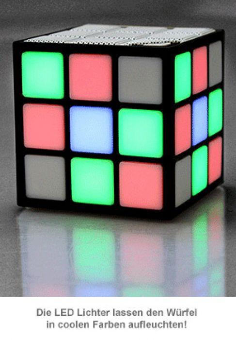 LED Lautsprecher Würfel