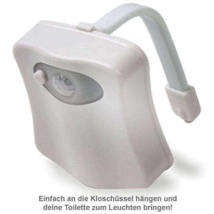 LED Toilettenlicht - WC Beleuchtung