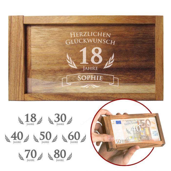 Köstlichgeschenksets - Magische Geldgeschenkbox zum Geburtstag - Onlineshop Monsterzeug