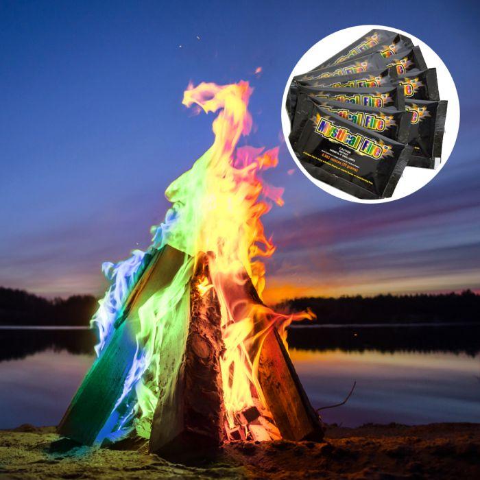 mystical fire pulver zur flammenf rbung f r tolle. Black Bedroom Furniture Sets. Home Design Ideas