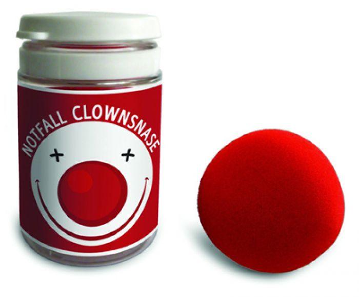 notfall clownsnase lustige rote nase zum aufsetzen. Black Bedroom Furniture Sets. Home Design Ideas