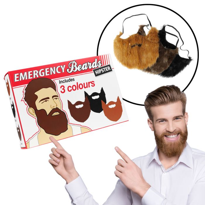 Barbes hipsters d'urgence