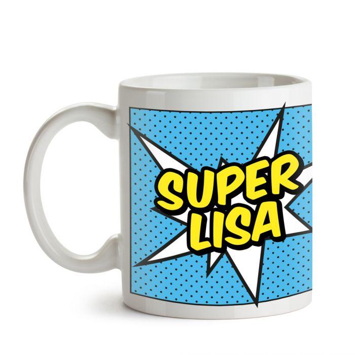 Personalisierte Supercape Tasse - Frau