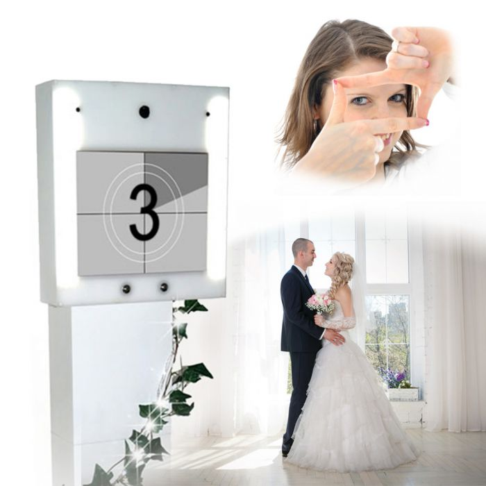 personalisiertes video g stebuch zur hochzeit deluxe mit deinem foto. Black Bedroom Furniture Sets. Home Design Ideas