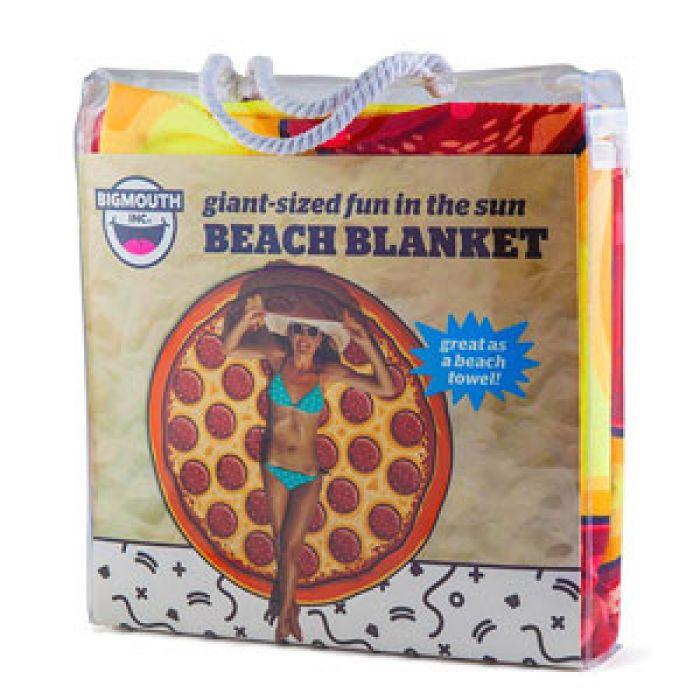 Witzige Strandtücher pizza handtuch - lustiges strandtuch als 152 cm riesenpizza