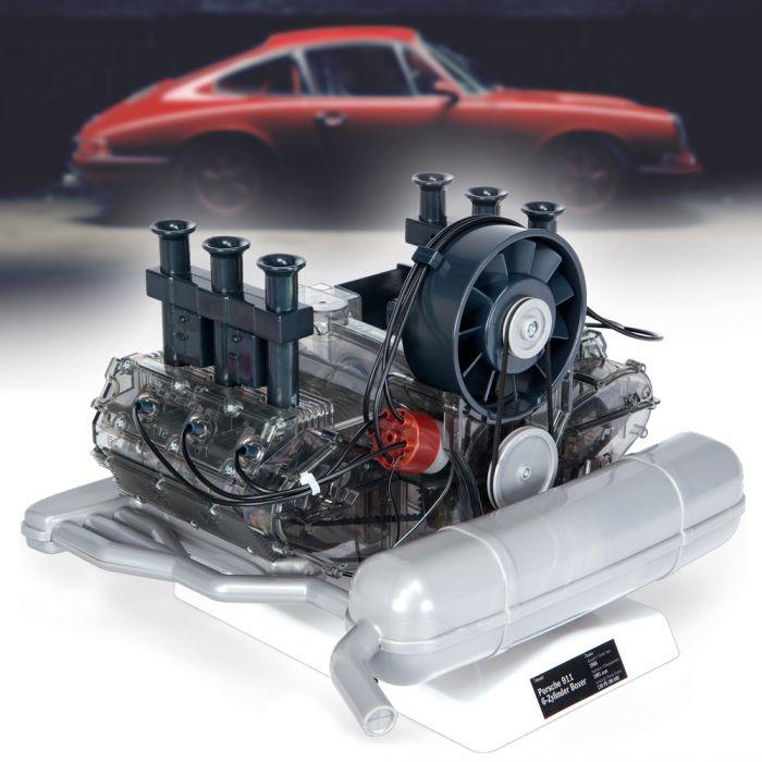 Porsche Motor Bausatz - 290 Teile originalgetreu mit Handbuch