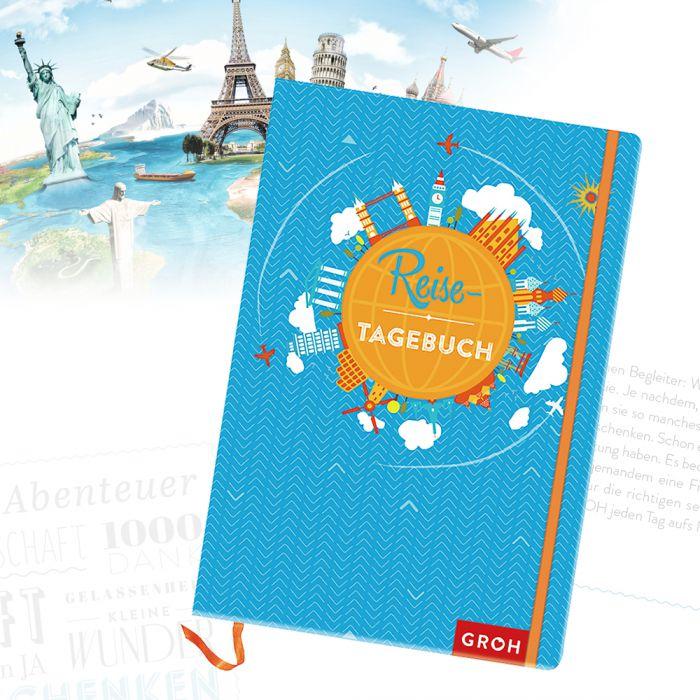 Reisetagebuch zum Ausfüllen und Verewigen von Erinnerungen