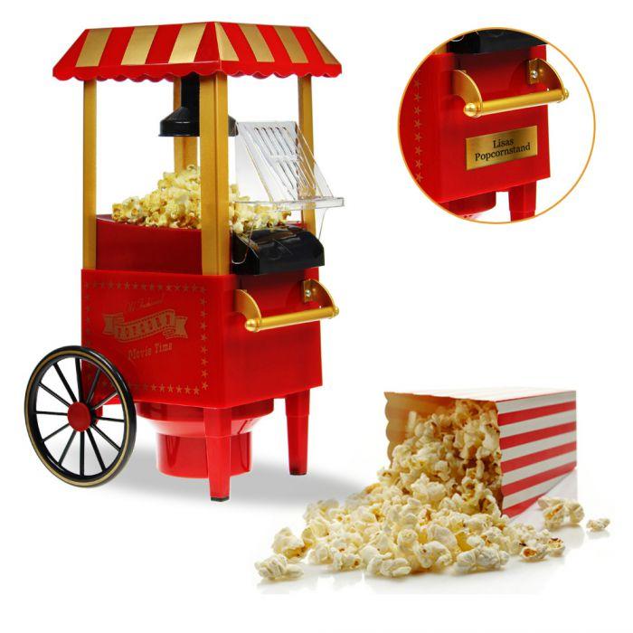 retro popcornmaschine mit wagen f r popcorngenuss wie im. Black Bedroom Furniture Sets. Home Design Ideas