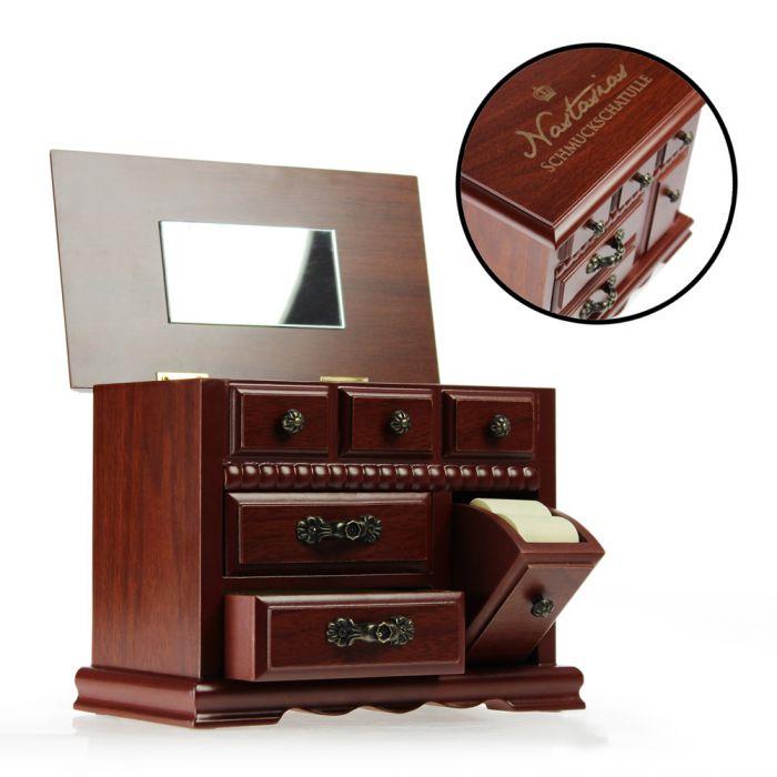 edle schmuckschatulle antik biedermeier stil. Black Bedroom Furniture Sets. Home Design Ideas