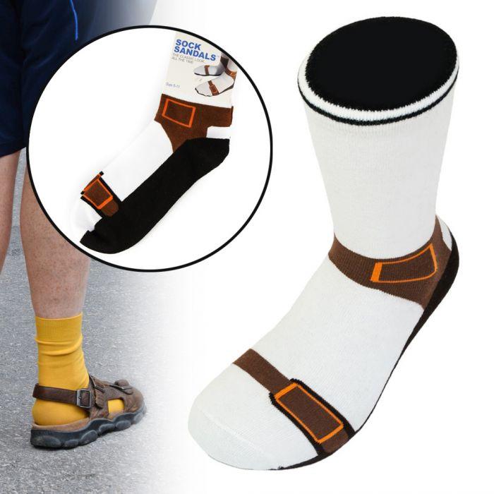 - Socken in Sandalen Optik - Onlineshop Monsterzeug