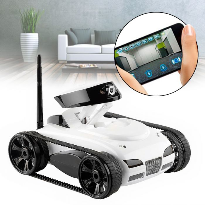 spy tank wireless panzer mit kamera f r ipad und iphone. Black Bedroom Furniture Sets. Home Design Ideas