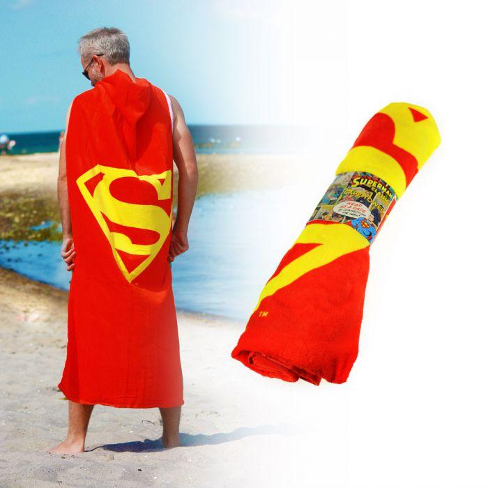 Superman 2in1 Handtuch Und Umhang Extra Für Superman Fans