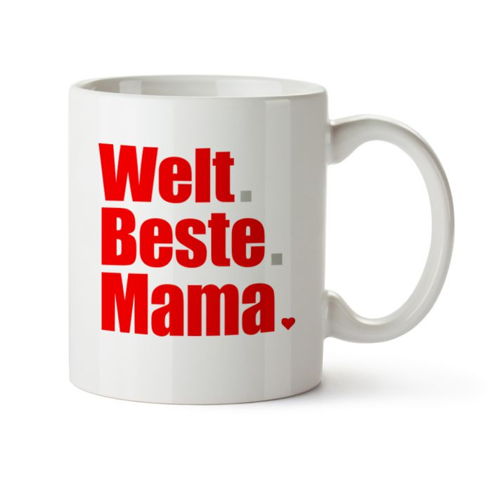 Tasse - Welt Beste Mama - tolles Geschenk für Mütter