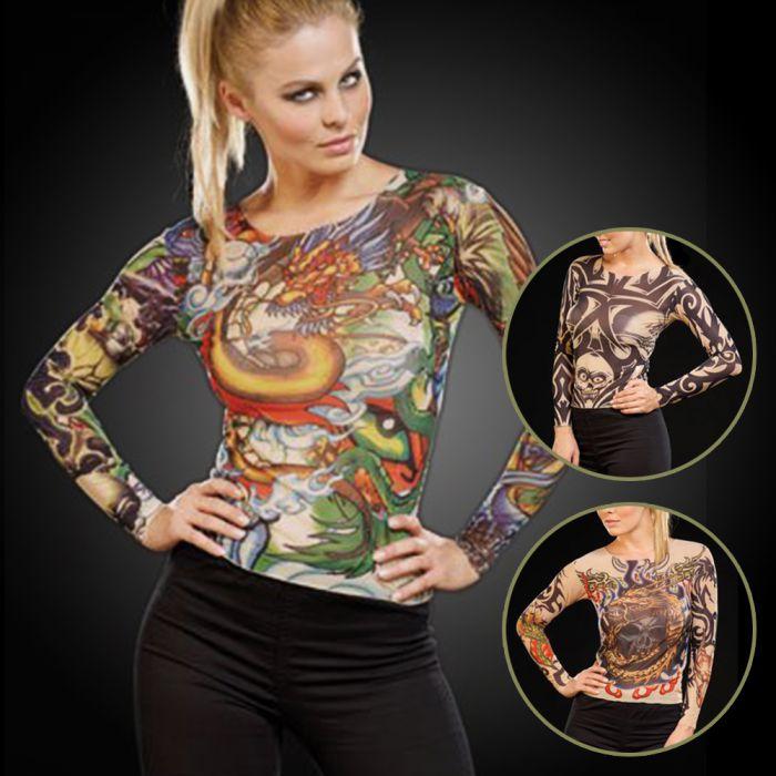 tattoo shirt drei varianten der t uschend echten. Black Bedroom Furniture Sets. Home Design Ideas