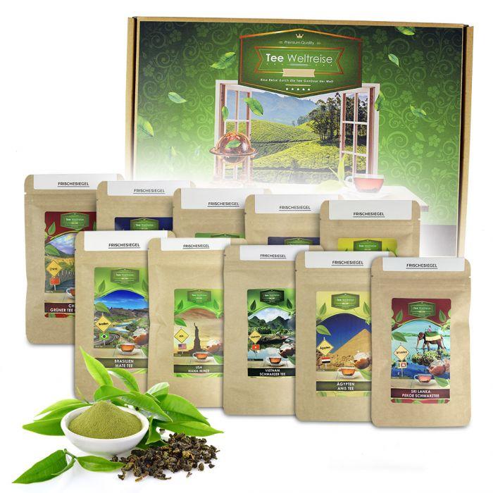 - Tee Weltreise Geschenkbox - Onlineshop Monsterzeug