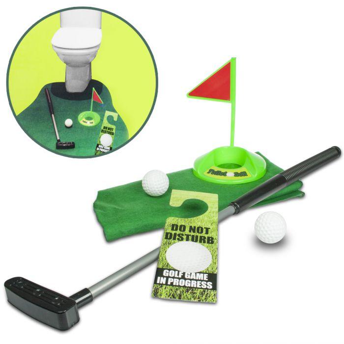 Partybedarfpartyspiele - Toiletten Golf - Onlineshop Monsterzeug