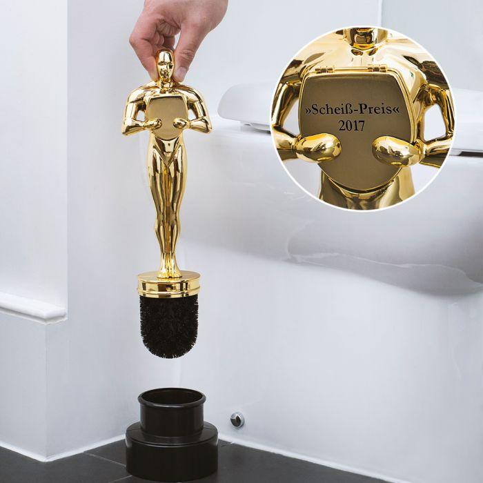 toilettenb rste siegerpokal toilet award lustige klob rste. Black Bedroom Furniture Sets. Home Design Ideas