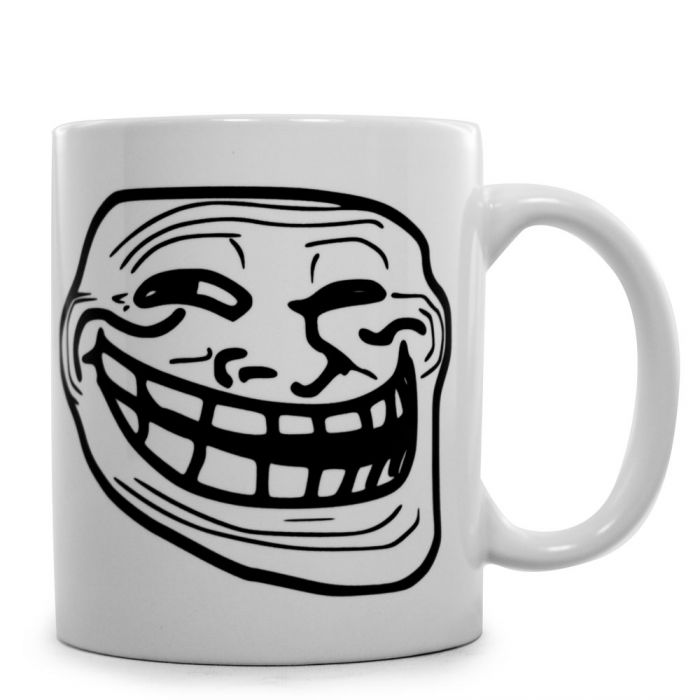 trollface tasse das coole gesicht auf deinem kaffeebecher. Black Bedroom Furniture Sets. Home Design Ideas