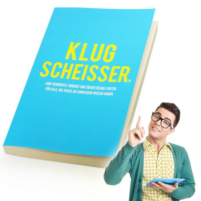 Unnützes Wissen Buch - Klugscheisser mit 1380 Fakten aller Art