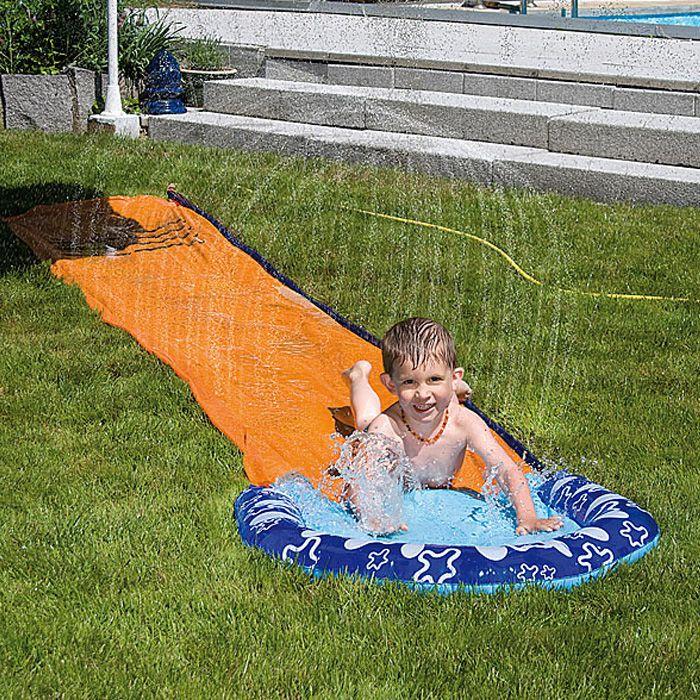 Wasserrutsche water slide pures spielvergn gen - Wasserrutsche fur garten ...
