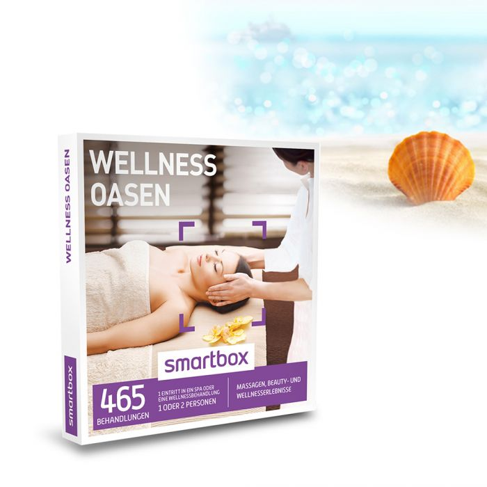 Spa wellness gutschein  Wellness Oasen - Gutschein Box 465 Angebote Spa, Massagen