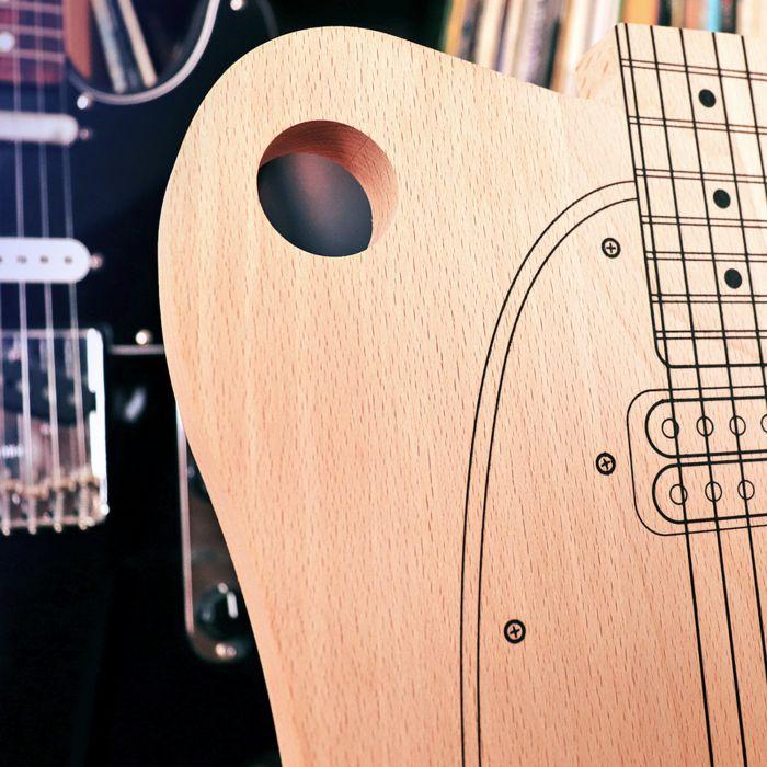 Planche à découper - Guitare électrique