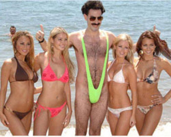 Borat Mankini Badeanzug