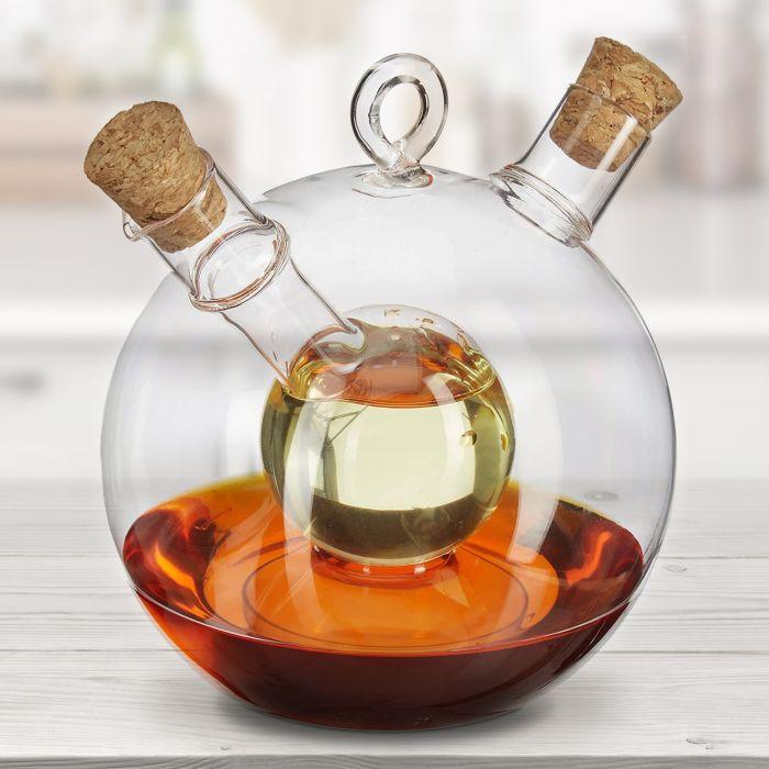 Essig und Öl Spender