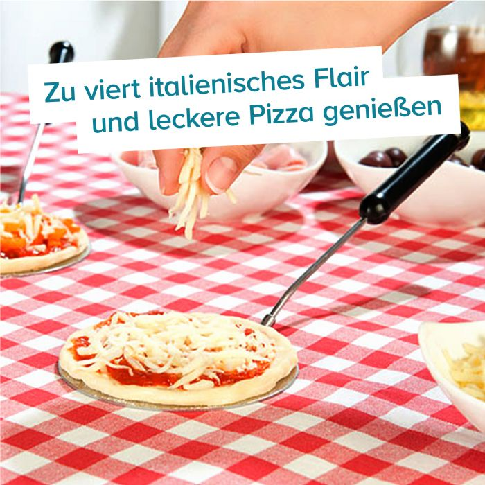 Mini Pizza Stein-Ofen